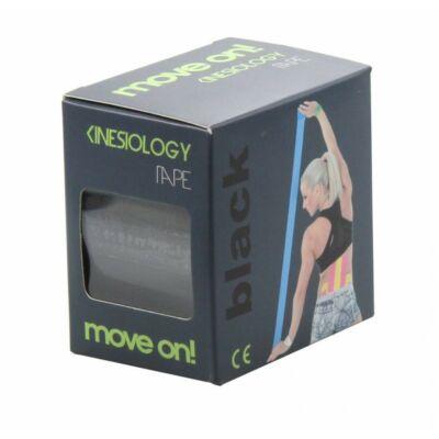 Move on kineziológiai szalag fekete