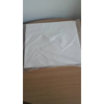 Higéniai fejpárna takaró X kivágással fehér 100 db/ csomag