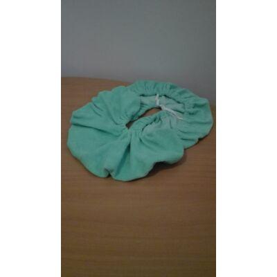 Frottír fejpárna huzat zöld