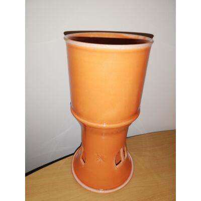 Masszázsolaj melegítő_narancssárga színű