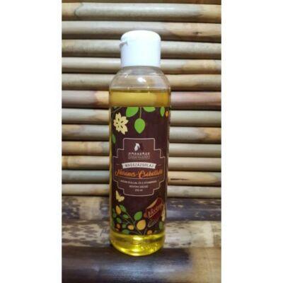 Narancsos-Csokoláde masszázsolaj argán olajjal és E-vitaminnal