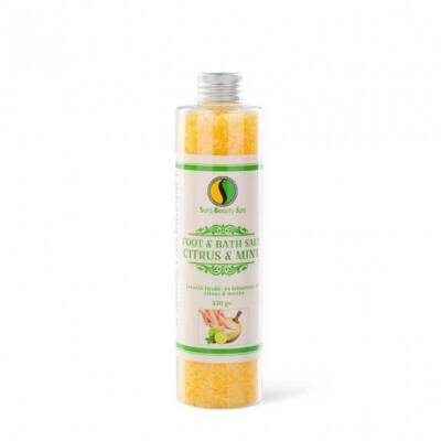 Fürdősó és Lábáztató Só - Citrus és Menta 330 g